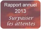 Rapport annuel 2013 - Évolution