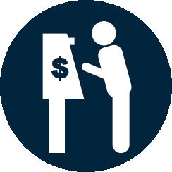 Kiosque de conversion de monnaie ReadySTATION® Logo