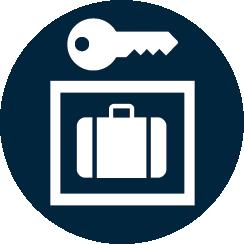 Entreposage de bagages Logo