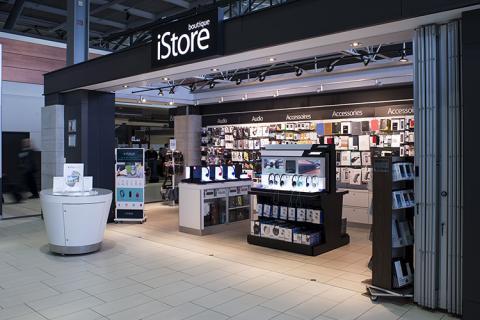 Boutique iStore storefront