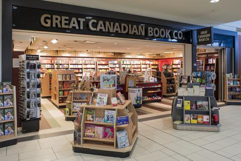 Great Canadian Book Co. storefront